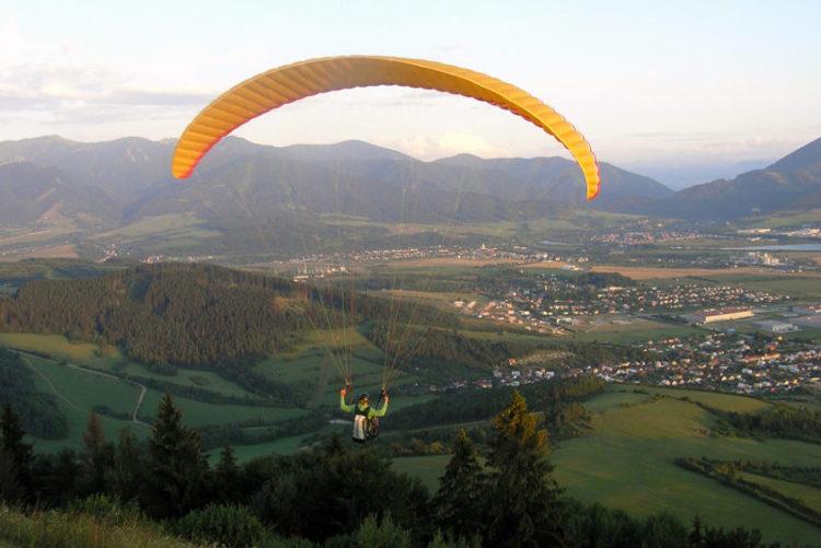 ElSpeedo paragliding kurz na Straníku u Žiliny