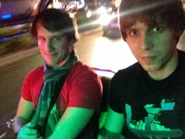 Po příletu do Bangkoku jedeme tuktukem na Khao San road
