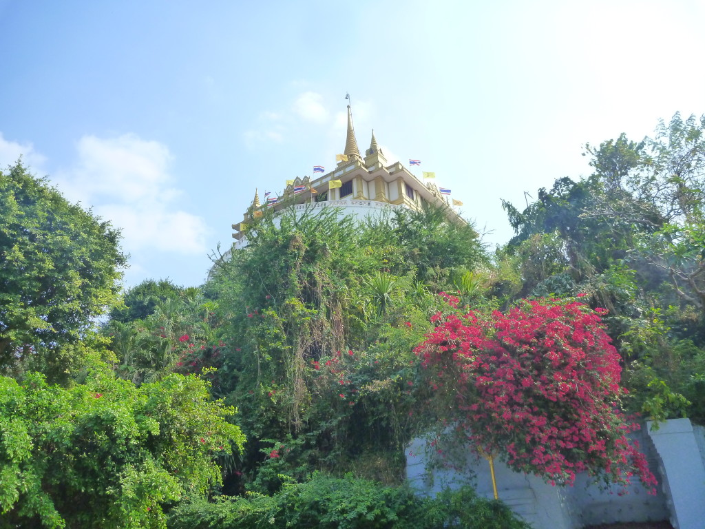 Wat Saket v Bangkoku