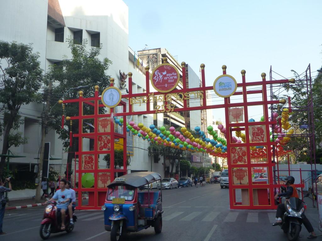 Oslava nového roku 2557 v Chinatown