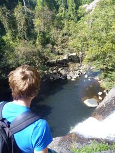 Haew Suwat waterfall jump