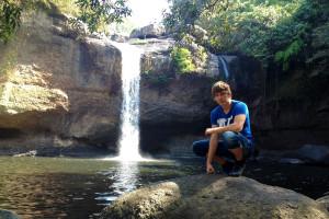 vodopád z filmu Pláž s DiCapriem, Haew suwat waterfall