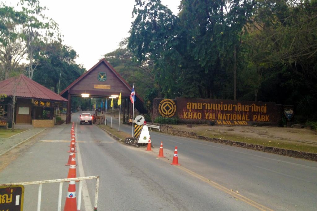 Severní vstup do národního parku Khao Yai