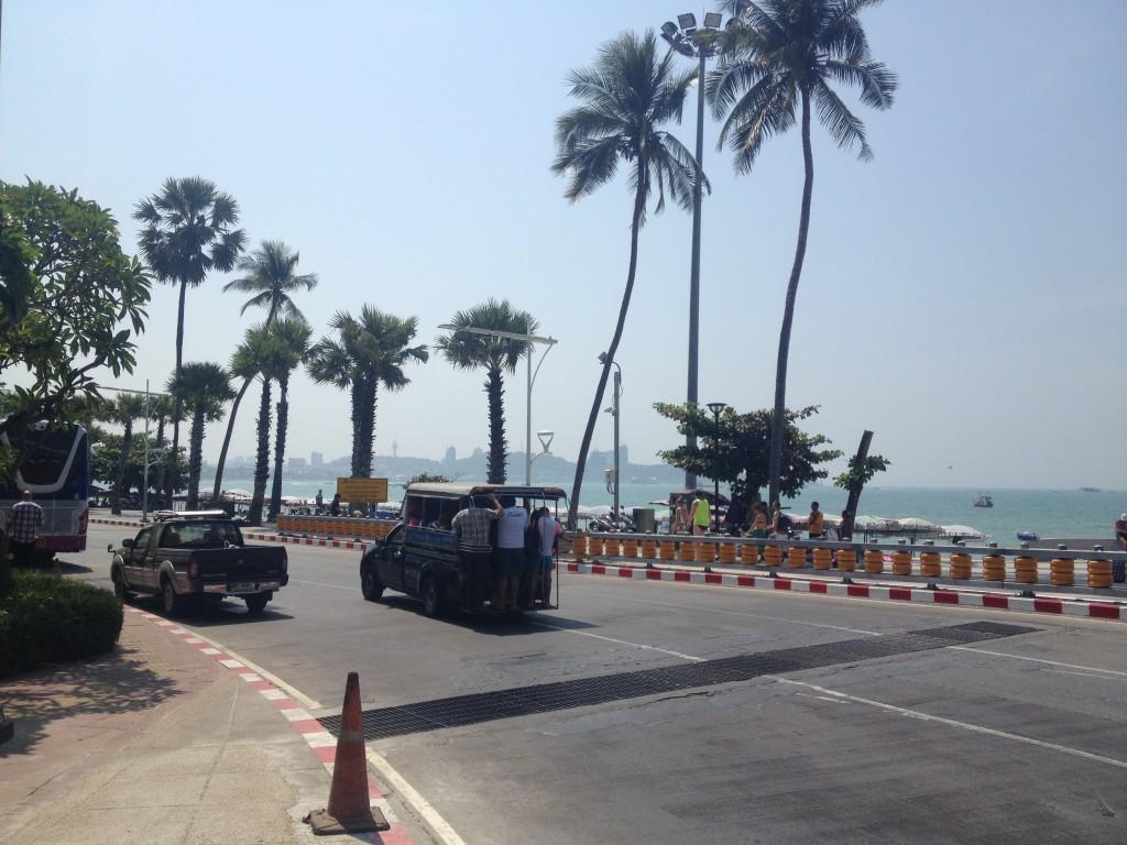 Pláž na Pattaya