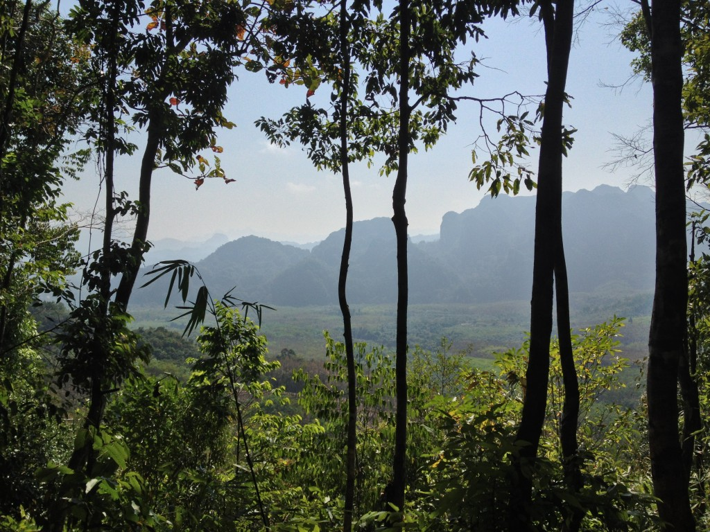 Výhled v národním parku Khao Sok
