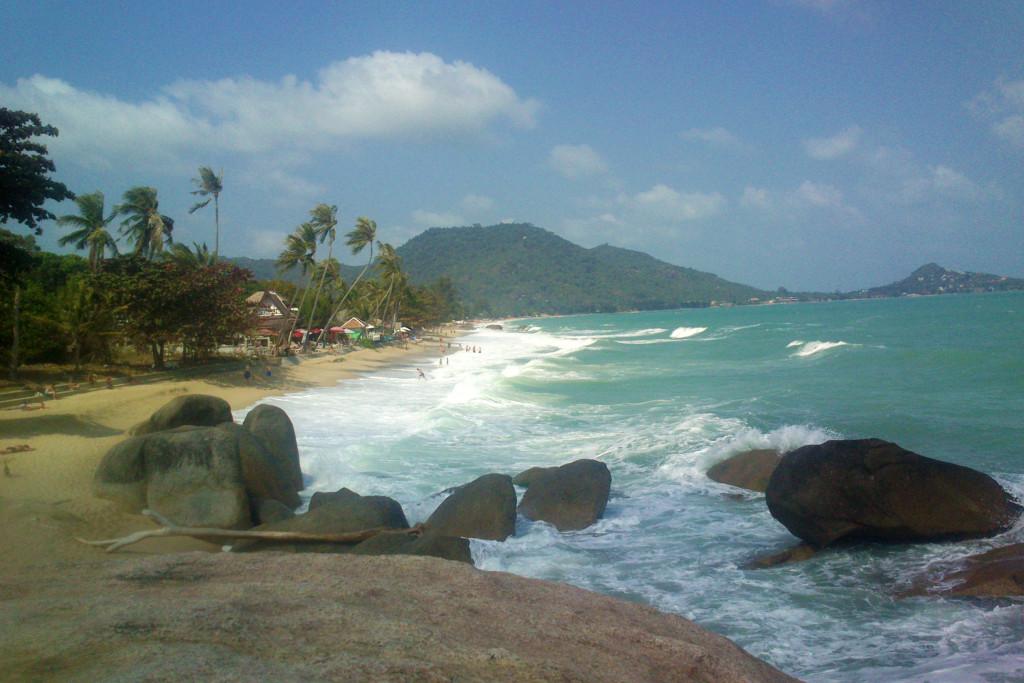 pláž chaweng