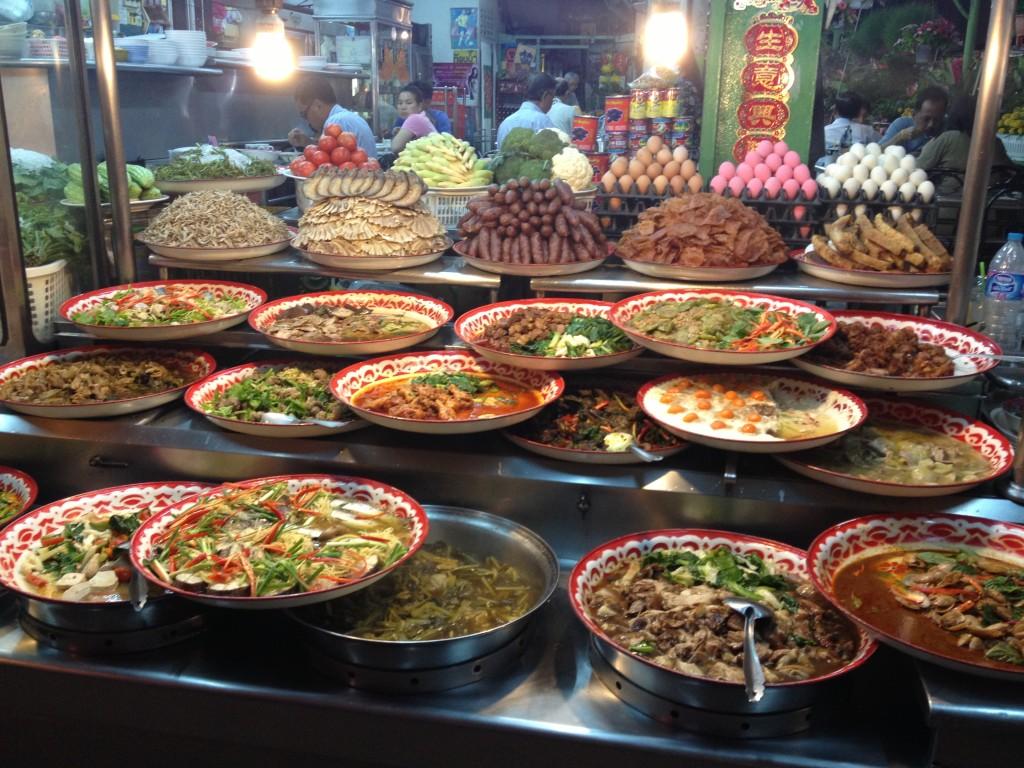 večerni trh v surat thani