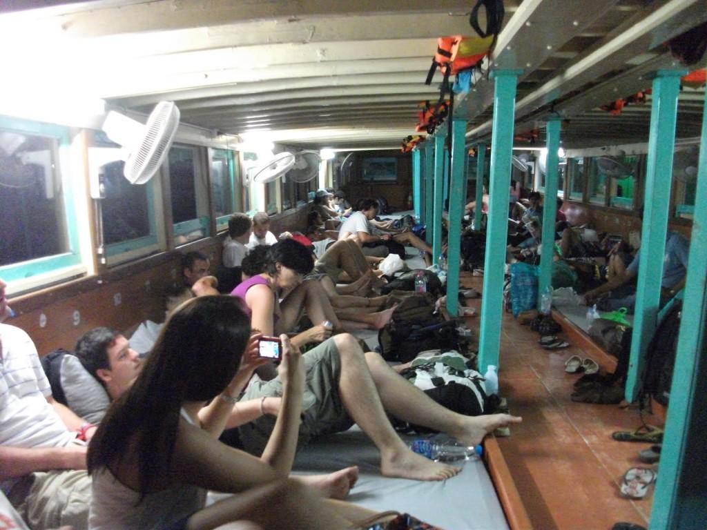 noční loď z Koh Tao do Surat Thani