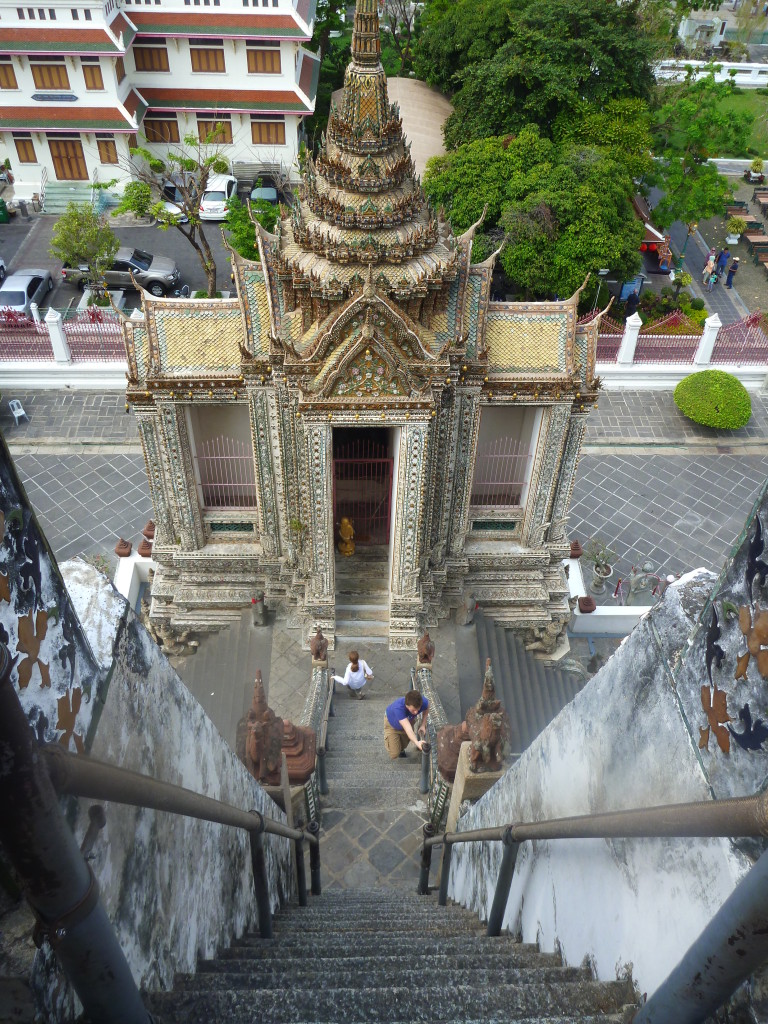 Schody na Wat Arun