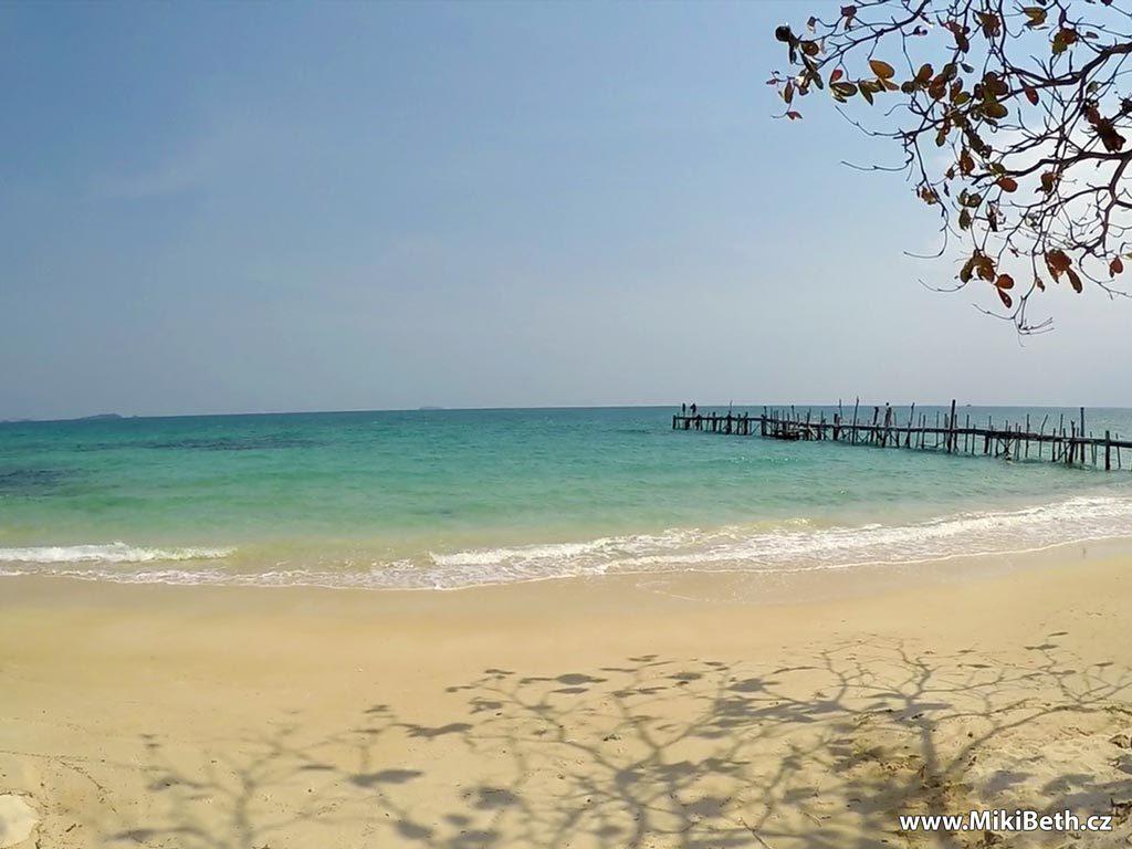 ukrytá pláž na koh samet