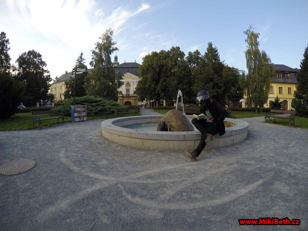 zámek bruntál fontána